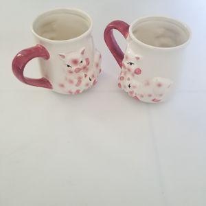 💚Pig mugs